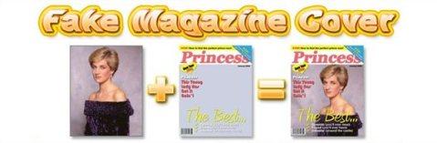 fake magazine cover